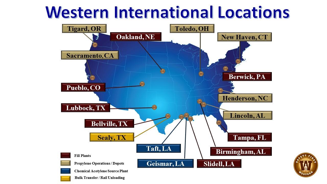 Western Locations